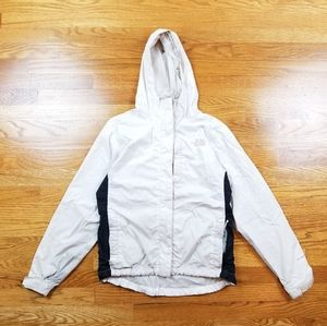 North Face Hyvent Windbreaker Rain White Jacket